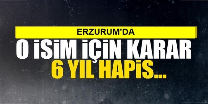 """Erzurum'daki """"Fetö"""" Davasında Karar"""
