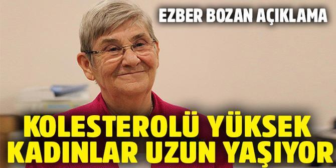 """Prof. Dr. Canan Karatay: """"Kaya tuzu beyaz altındır"""""""