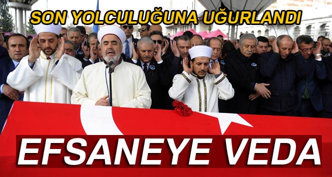 Süleymanoğlu son yolculuğuna uğurlandı