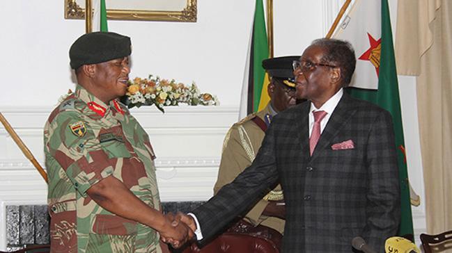 Zimbabve Cumhurbaşkanı Robert Mugabe istifa etmeyi kabul etti!