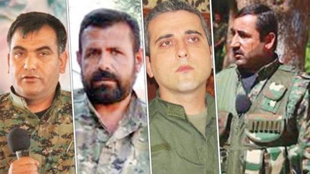 İşte PKK'nın Afrin kadrosu