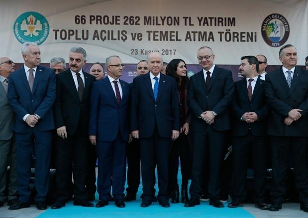 Devlet Bahçeli'den CHP ve İYİ Parti'ye