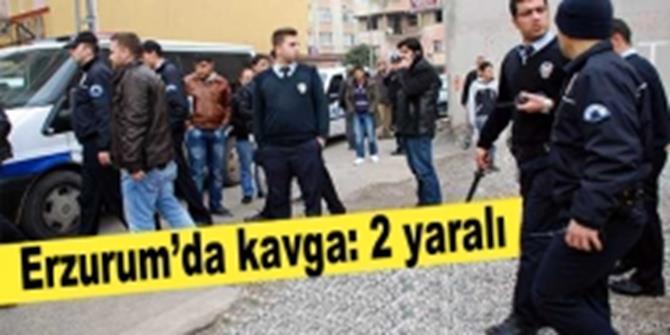 Erzurum'da Kavga: 2 Yaralı