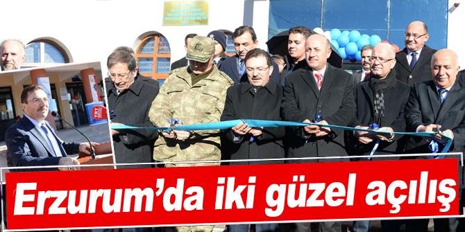 Erzurum'da iki güzel açılış