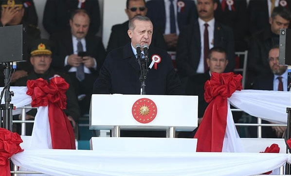 Cumhurbaşkanı Erdoğan: Boynumuzun borcudur!
