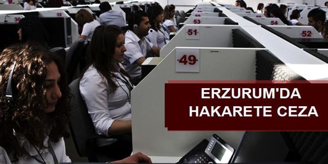 Müşteriye hakarete 1500 lira ceza