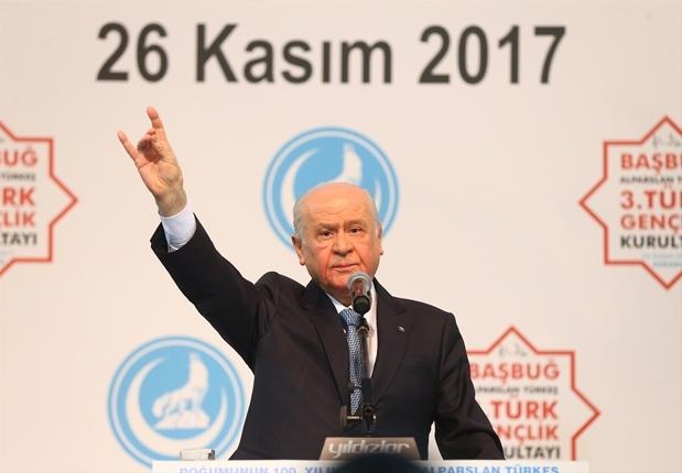 Bahçeli: Gelişmeler Alparslan Türkeş'i haklı çıkardı