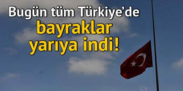 Türkiye'de 1 günlük Milli Yas ilan edildi