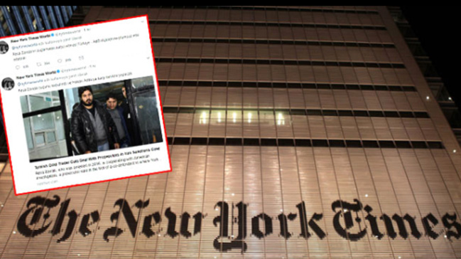 Amerikan New York Times gazetesi 'Türkçe Twitter paylaşımlarının' gerekçesini açıklayamadı