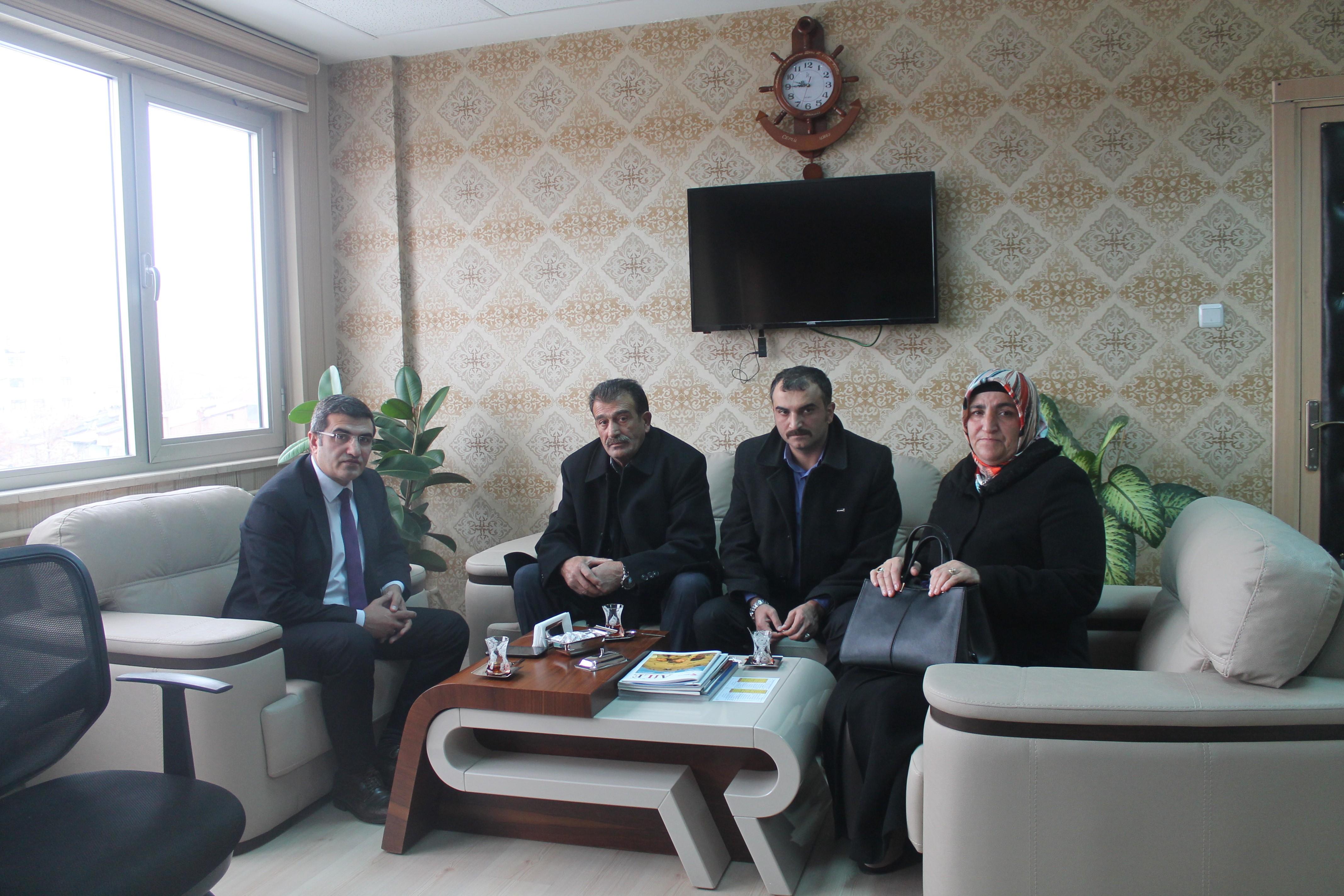 15 Temmuz Şehidinin ailesinden ASP İl Müdürlüğü'ne ziyaret