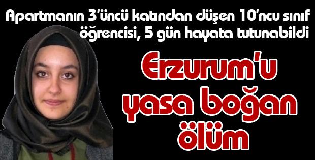 Erzurum'u Yasa Boğan Ölüm