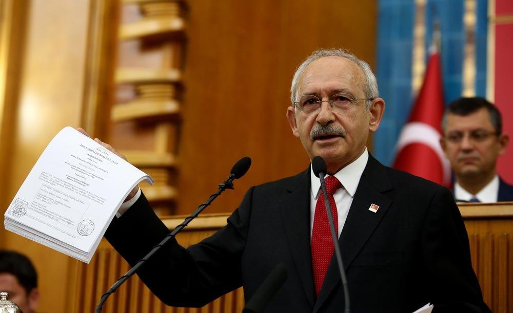 Kılıçdaroğlu'nun açıkladığı belgelerle ilgili soruşturma başlatıldı!