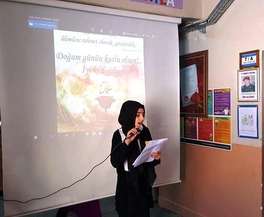 Dadaş Ortaokulu'ndan Mevlid-i Nebi Etkinliği ve Kırk Şair Kırk Şiir Yarışması