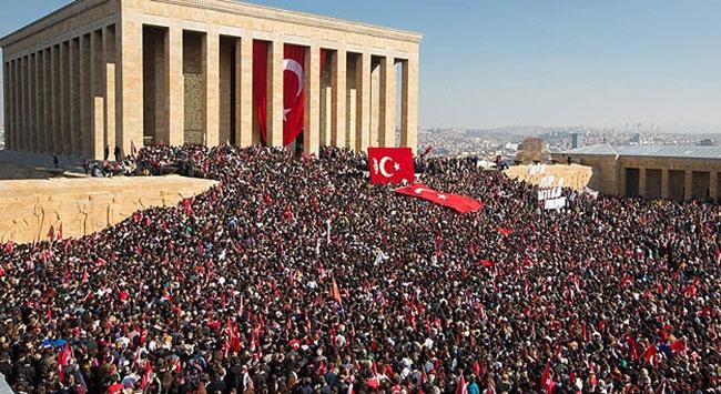 TSK, Anıtkabir ziyaretçi sayısını açıkladı!
