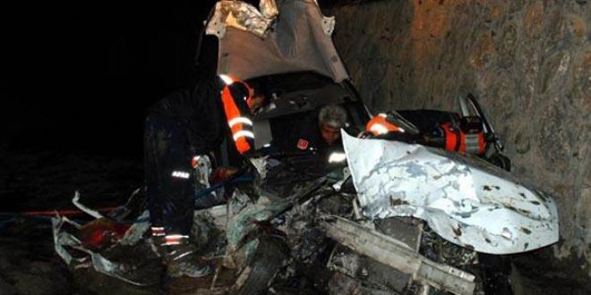 Erzincan'da Kaza: 2 Ölü, 2 Yaralı