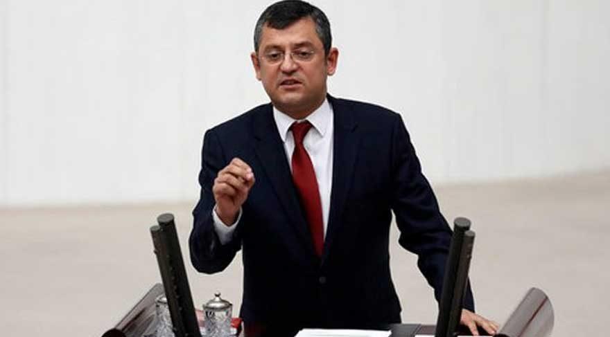 CHP'li Özel'den olay yaratacak açıklama