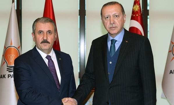 Cumhurbaşkanı ile görüşen Destici'den 'baraj' ve 'ittifak' önerisi