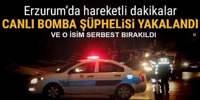 Üzerinde Bomba Süsü Düzenek Çıkan Şüpheli Serbest Bırakıldı