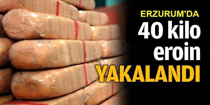 Erzurum'da Uyuşturucuyu Şeker Paketlerine Saklamışlar