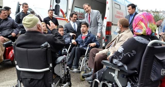 Palandöken Belediyesi Engelliler İçin Özel Araç Aldı
