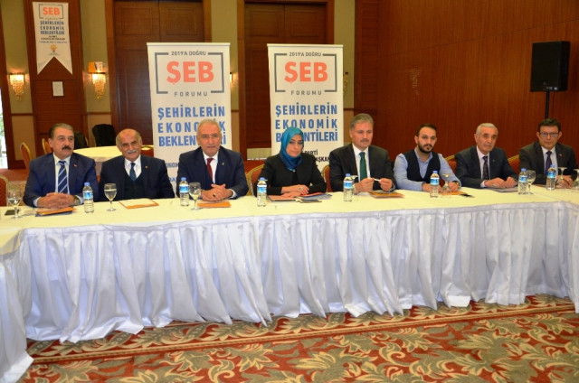 Şehirlerin Ekonomik Beklentileri' Çalıştayı Düzenlendi