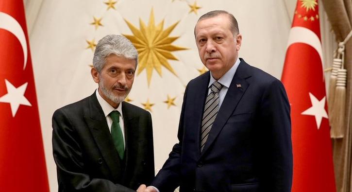 Erdoğan ile görüşmüştü!