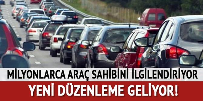 Trafik sigortası için yeni düzenleme geliyor