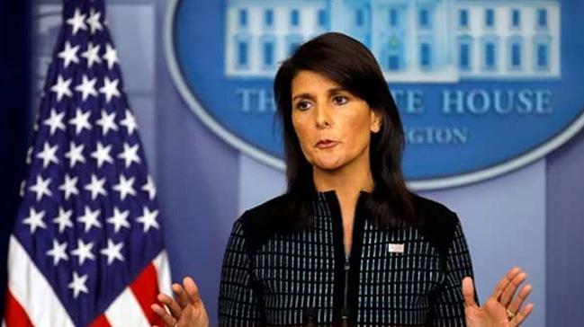 ABD'nin BM Daimi Temsilcisi Haley: Trump'ı cinsel tacizle suçlayan kadınlar dinlenmeli