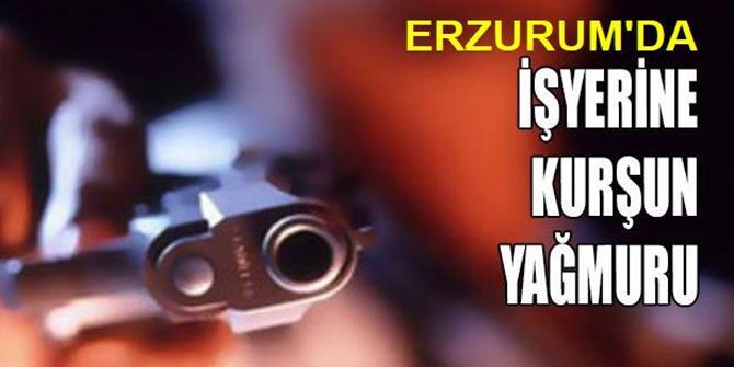 Erzurum'da İş Yerine Silahlı Saldırı