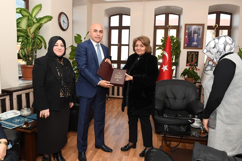 Erdoğan'dan Başkan Korkut'a ziyaret
