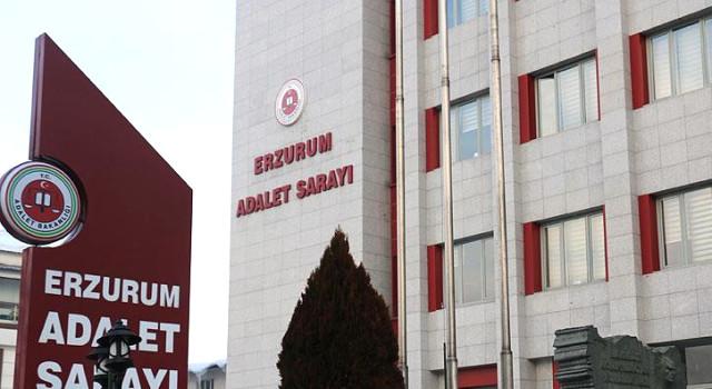 Erzurum'da 7 polis hesap veriyor