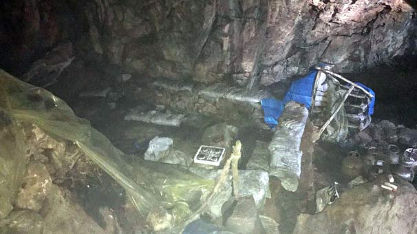 Tunceli'de PKK jeneratörü, el yapımı patlayıcı ve mühimmat bulundu