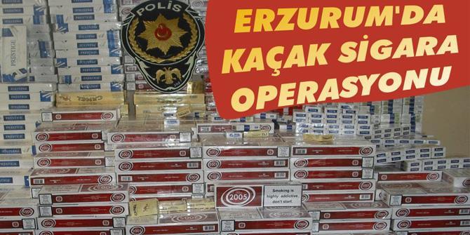 22 Bin 780 Paket Kaçak Sigara Ele Geçirildi