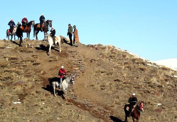 Erzurum'da Atlı Hafızlar, 485'inci 'Binbir Hatim'i Başlattı