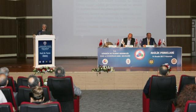 Atatürk Üniversitesinde Ahilik Haftası Paneli