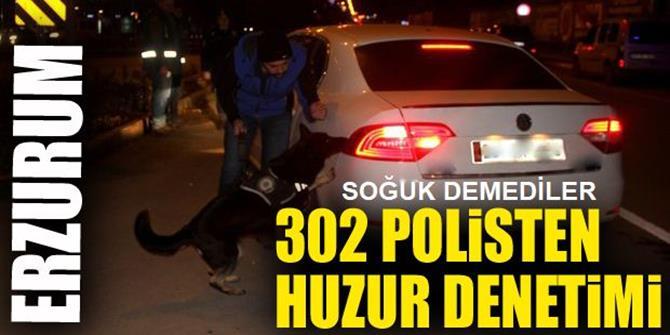 Erzurum'da Buz Gibi Havada 'Huzur Erzurum-3'