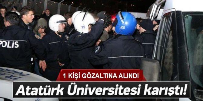 Üniversite Öğrencileri Arasında Gerginlik