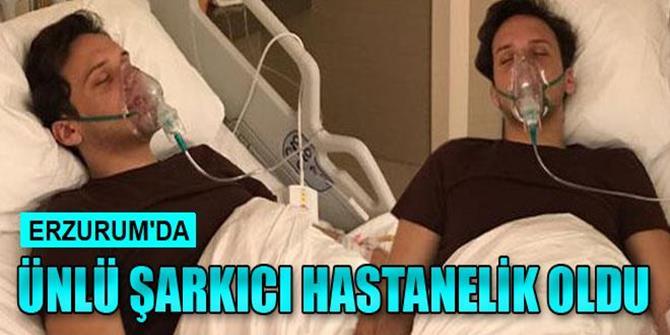 Ünlü Şarkıcı Edis, Erzurum'da Hastanelik Oldu