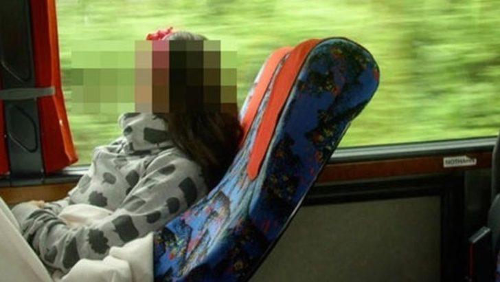 Otobüste bir taciz skandalı daha! Muavinin yaptığını fark edince uyandı