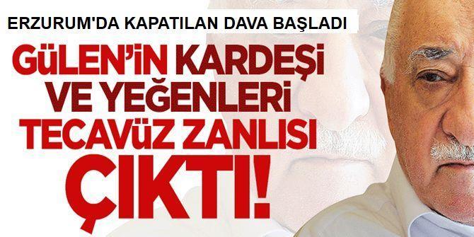 Erzurum'da kapatılan dava başladı