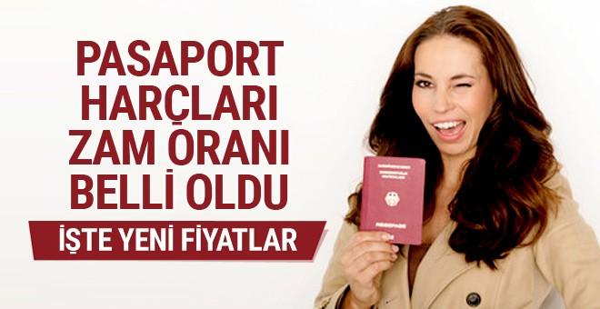 Pasaporta yeni yıl zammı!