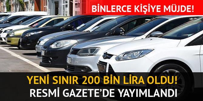 Engellilerin taşıt alımında ÖTV istisnasına 200 bin lira sınırı