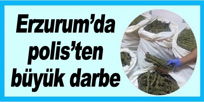 Erzurum Polisi Aralık Ayında Uyuşturucuya Geçit Vermedi