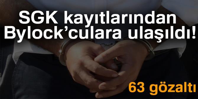 SGK kayıtlarından Bylock'culara ulaşıldı