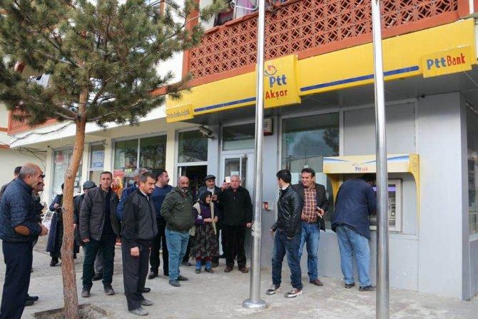Akşar Ptt, Memur Olmadığı İçin Haftada İki Gün Açık Kalıyor