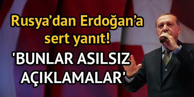 Rusya Dışişleri'nden, Erdoğan'ın 'Esad bir teröristtir' sözlerine yanıt