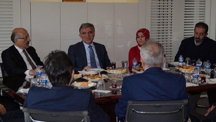 Abdullah Gül'den flaş hamle!