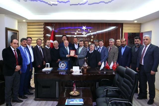 Başkan Sekmen'den Tümsiad'a Ziyaret