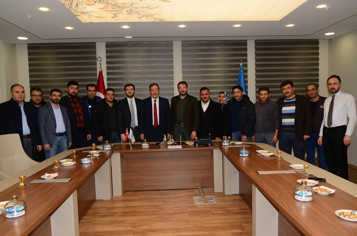 AK Parti İlçe Başkanından Bulutlar'a ziyaret