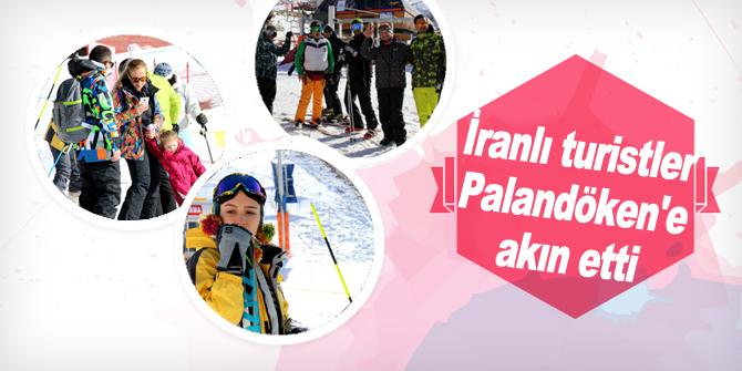 İranlı turistler Palandöken'e akın etti
